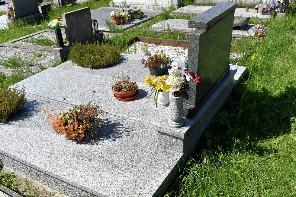 Hrob rodiny Pavla Niedoby.