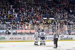 45. kolo hokejové extraligy mezi HC Vítkovice Ridera - HC Dynamo Pardubice v Ostravě dne 14. února 2020. Radost Vítkovic.