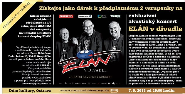 Koncert Elánu