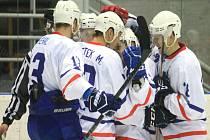 Hokejisté Nového Jičína zakončili letošní rok porážkou po samostatných nájezdech na ledě Valašského Meziříčí.