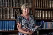 Libuše Foberová, nová ředitelka Moravskoslezské vědecké knihovny v Ostravě.