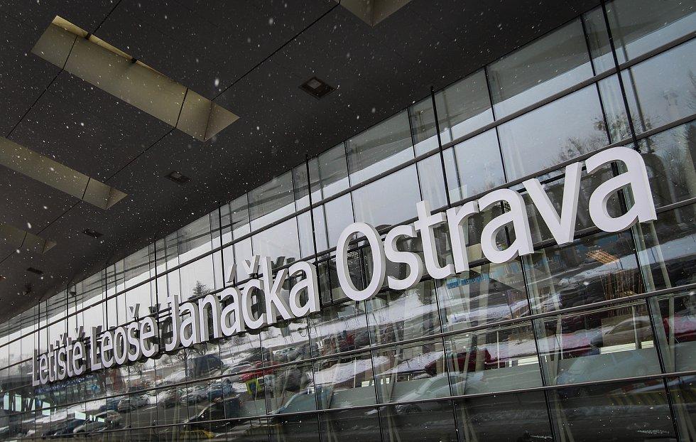 Letiště Leoše Janáčka v Mošnově. Ilustrační foto.