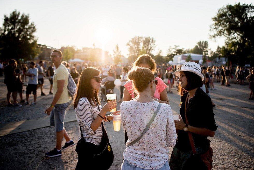 Hudební festival Colours of Ostrava, pátek 21. července 2017.