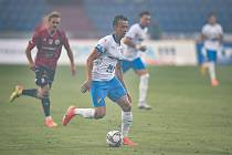 Utkání 2. kola první fotbalové ligy: FC Baník Ostrava - SK Dynamo České Budějovice, 28. srpna 2020 v Ostravě. Daniel Tetour z Ostravy.