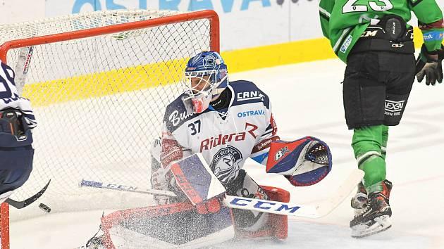 Utkání 23. kola hokejové extraligy: HC Vítkovice Ridera - BK Mladá Boleslav, 28. listopadu 2019 v Ostravě.