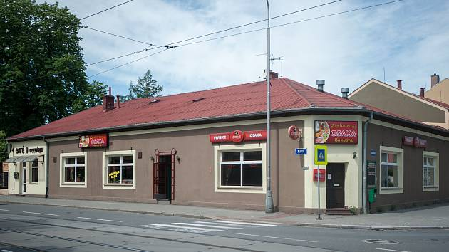 Bývala restaurace Schönthal, dnes Osaka, v Ostravě-Vítkovicích.