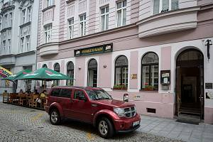 Pivnice U Rady, červen 2019 v Ostravě.