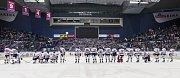 Utkání 34. kola hokejové extraligy: HC Vítkovice Ridera - HC Oceláři Třinec, 12. ledna 2019 v Ostravě.