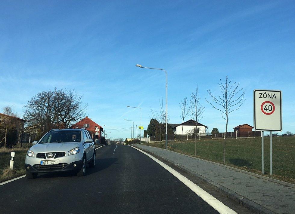 V Krásném Poli se jezdí, potažmo má jezdit, čtyřicítkou.
