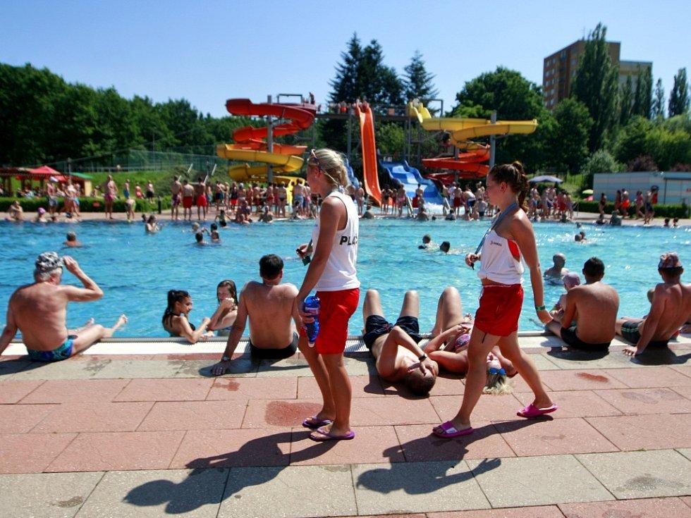 Vodní areál Sareza v městské části Ostrava-Jih.