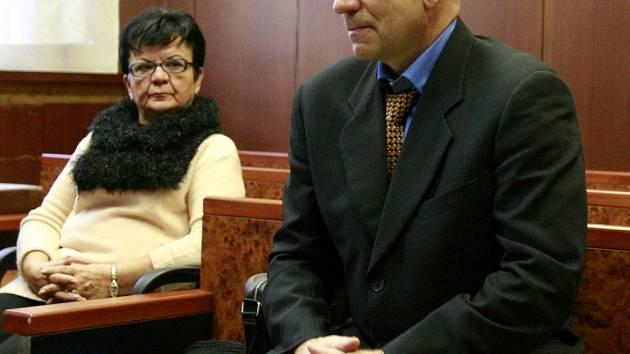 Goran B. na archivním snímku z jednání u Krajského soudu v Ostravě.