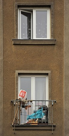 Ubytovna vČujkovově ulici vOstravě-Zábřehu.
