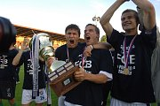 Baník Ostrava vyhrál pohár celkem čtyřikrát.