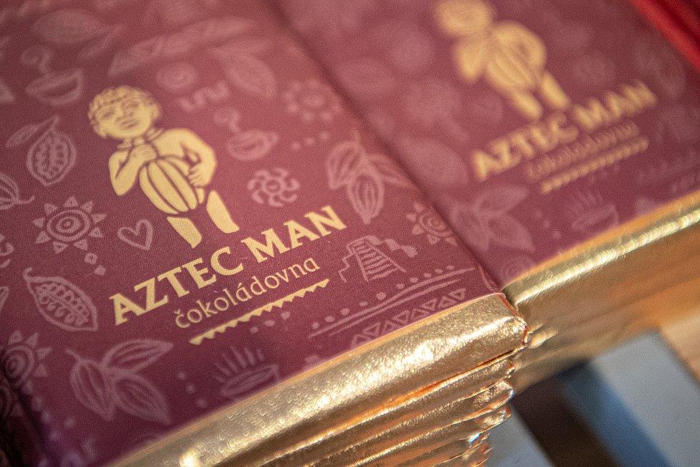 Čokoládovna Aztec man, 13. sprna 2020 v Ostravě.