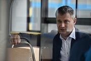 Ředitel DPO Daniel Morys, snímek k rozhovoru pro Deník, duben 2018 v Ostravě.