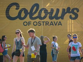Lidé na Colours of Ostrava 2017
