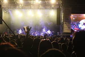 Pátek 30. července 2021, Ostrava, Landek, festival Štěrkovna Open Music 2021.