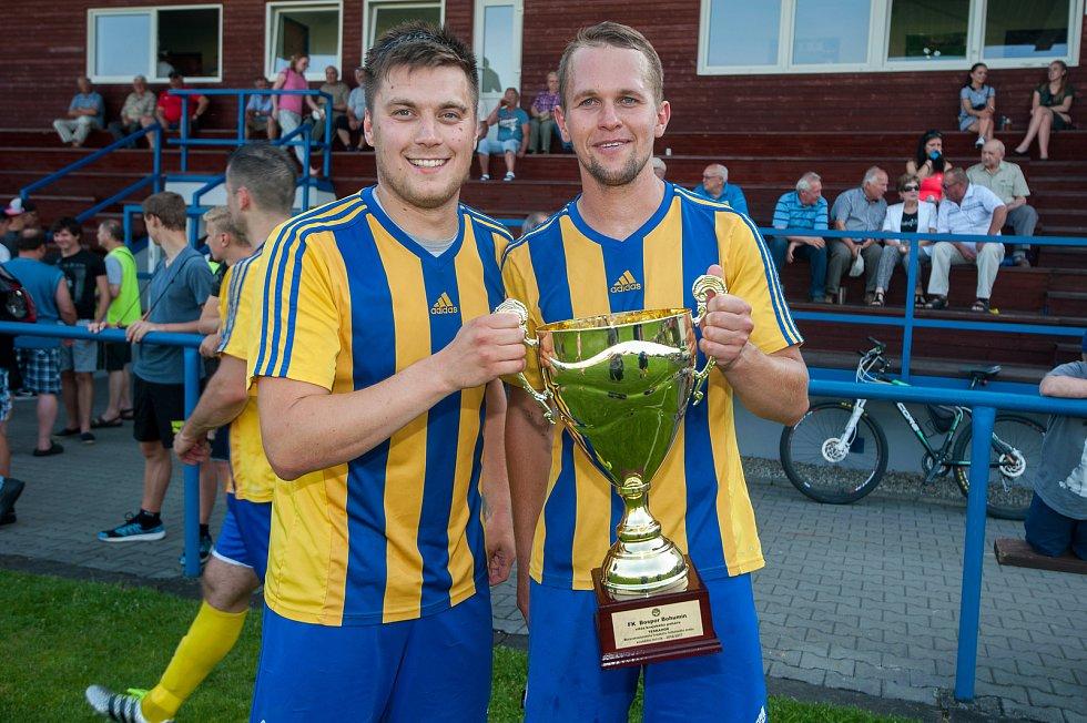 Bohumínští fotbalisté porazili ve finále krajského poháru Ludgeřovice 3:0.