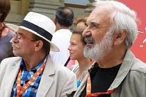Jaroslav Uhlíř (vlevo) a Zdeněk Svěrák. Ilustrační foto.