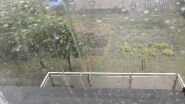 Následky bouřky v MSK 21. 7. 2019