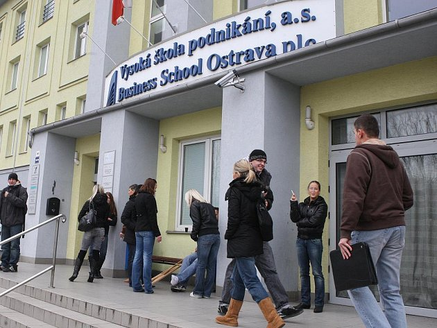 Vysoká škola podnikání v Ostravě.