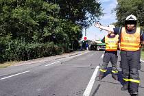 Dopravní komplikace způsobila nehoda kamionu, která se stala v pátek dopoledne v ulici Šenovské v Ostravě-Bartovicích.