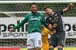 FORTUNA:LIGA - Skupina o titul, 5. kolo - FK Jablonec - FC Baník Ostrava, 8. července 2020 v Jablonci. Patrizio Stronati.