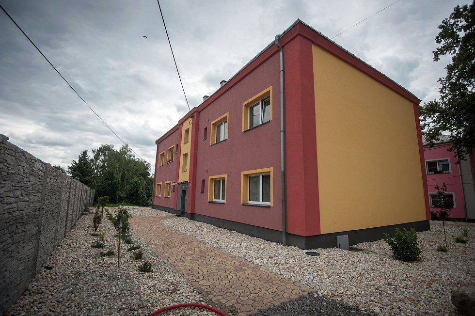 Stavba od podnikatele Rostilava Mitruse - Slezská Ostrava, ulice Na Josefské.