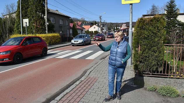 Martina Cnotová z Ostravy-Petřkovic očekávala dopravní peklo. Bohužel se nemýlila.