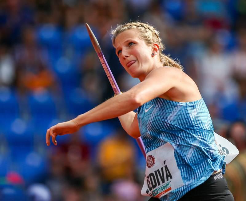 Atletický mítink IAAF World Challenge Zlatá tretra v Ostravě 20. června 2019. Na snímku