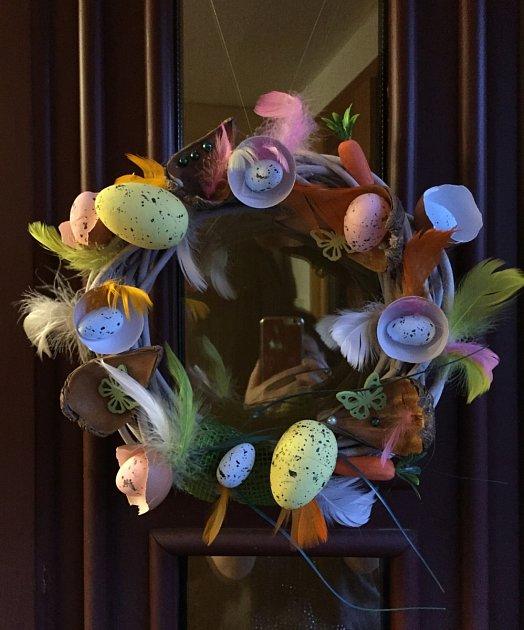 Velikonoční výzva - dekorace Andrea Strachová