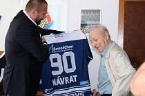 Dnes (25. května 2021) slaví své 90. narozeniny šestinásobný mistr Československa a poslední žijící mistr Vítkovic z roku 1952 a zároveň nejstarší žijící hráč Vítkovic Zdeněk Návrat.