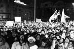 Četné manifestace se v listopadu 1989 konaly také na náměstí VŘSR – dnešním Prokešově náměstí, před ostravskou Novou radnicí.