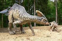 Záběry z Dinoparku ve Vyškově