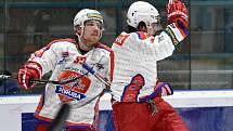 Ilustrační foto. Utkání 48.kola Chance ligy: HC RT Torax Poruba - Slavia Praha, 1. února 2020 v Ostravě.