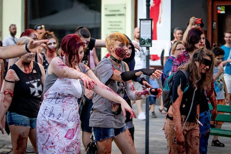 Zombie walk v Ostravě, sobota 29. června 2019.