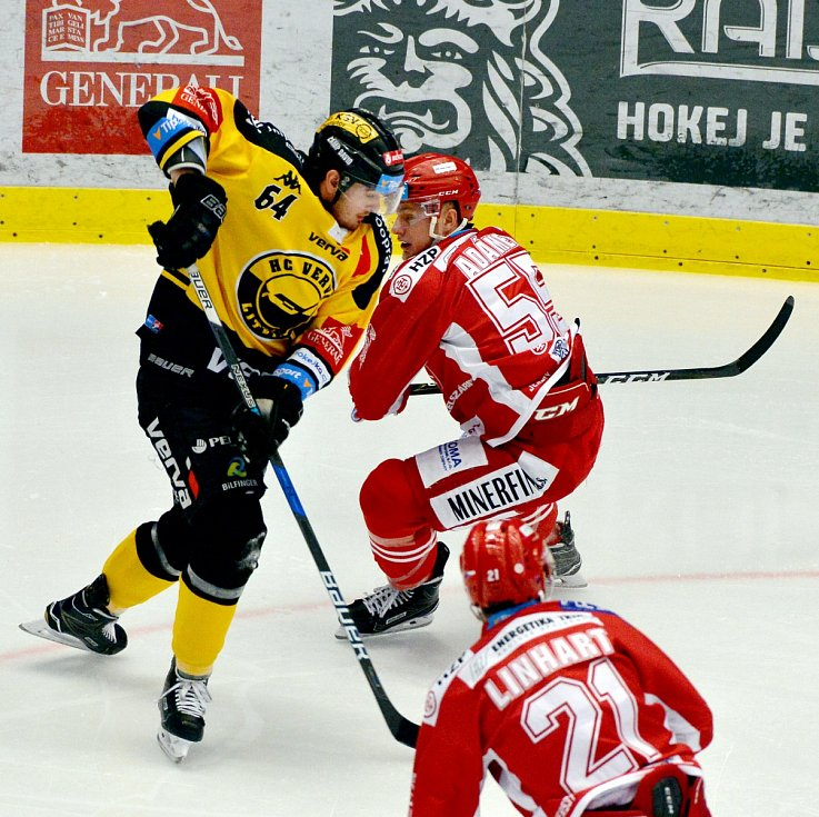 Hokejová extraliga 46. kolo: Třinec - Litvínov
