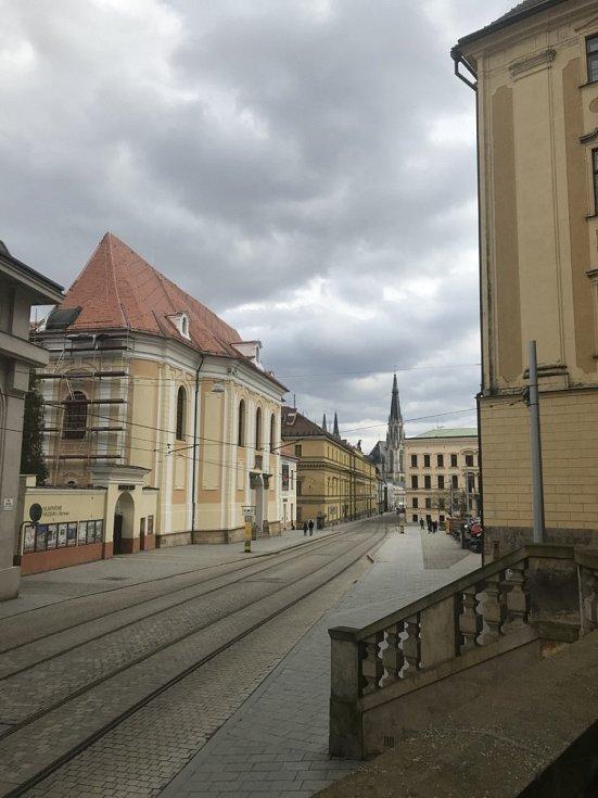 Pohled na Náměstí republiky.