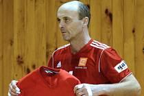 Nahrávač Petr Štika má ze svého minulého návratu do extraligy v dresu Ostravy bronz. Letos se už s týmem radoval z vítězství v Českém a Česko-Slovenském poháru.