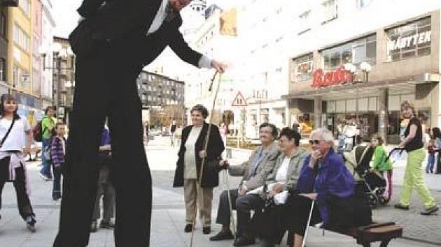 Divadlo Kvelb v opavských ulicích