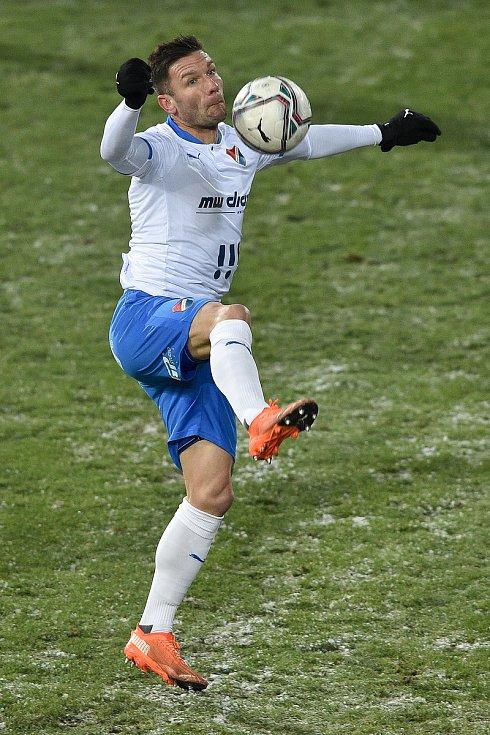 Utkání 15. kola první fotbalové ligy: FC Baník Ostrava - AC Sparta Praha, 17. ledna 2021 v Ostravě. Martin Fillo z Ostravy.