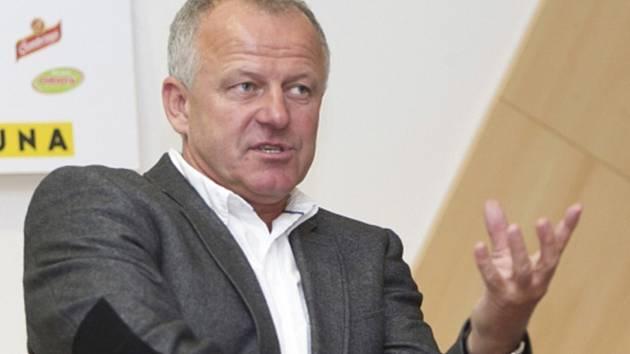 Verner Lička, legenda fotbalového Baníku Ostrava.