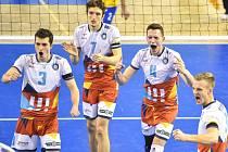 Volejbalisté VK Ostrava postoupili do čtvrtfinále Českého poháru, ve kterém se utkají s Karlovarskem.