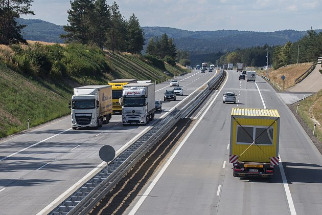 Dálnice vČR - Ilustrační foto.