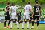 Utkání 1. kola fotbalové Fortuna ligy: MFK Karviná - FC Baník Ostrava, 23. srpna 2020 v Karviné. Adam Jánoš z Ostravy.