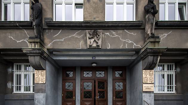 Budova krajského soudu. Ilustrační foto.
