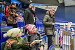 Zahájení olympijského festivalu u Ostravar arény v Ostravě.Andrej Babiš navštívil olympijský festival v Ostravě