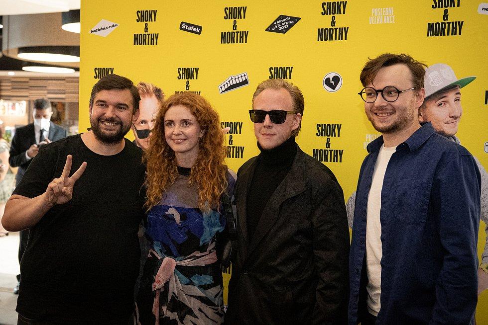 Předpremiéra filmu Shoky a Morthy: Poslední velká akce v ostravském kinu Cinestar, 23. července 2021 v Ostravě.