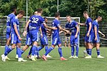 Přípravné fotbalové utkání: Baník Ostrava - FK Fotbal Třinec, 5. srpna 2020 v Ostravě.