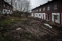 Salma. Část Slezské Ostravy, kdysi bydliště spousty horníků. Dnes spíše zanedbané místo.